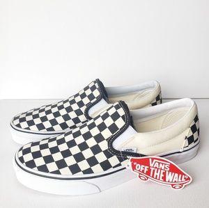 New Vans Skate Classic Slip On Checkered #10.5W#9M